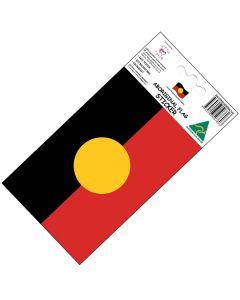 Sticker Vinyl Colour-Fast Aboriginal Flag