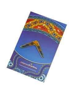 NAIDOC Boomerang Lapel Pin