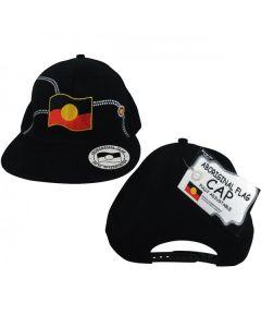 Cotton Twill Cap Aboriginal Flag