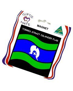 Magnet Canvas Torres Strait Islander Flag Wavy