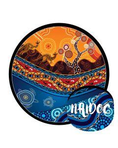NAIDOC Folding Frisbee 2