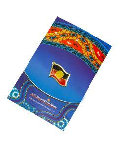 Aboriginal Flag Metal Badge 18x11mm