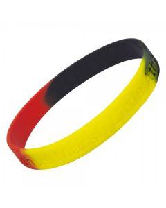 Custom Message Debossed Wristbands
