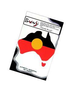 Australian Map Shape Aboriginal Flag Flexible Magnet