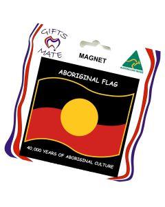 Magnet Flexible Aboriginal Flag Wavy 40,000 Years