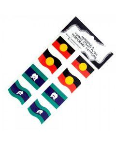 Aboriginal & Torres Strait Islander Flag Temporary Tattoos